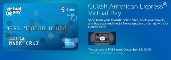 How to Verify Paypal Account using Globe GCASH AMEX