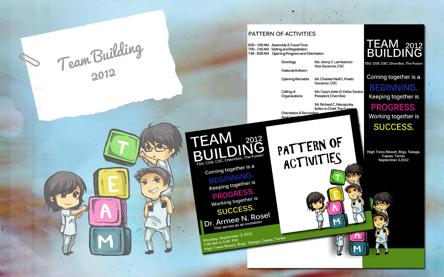 Invitation Design #3: Team Building