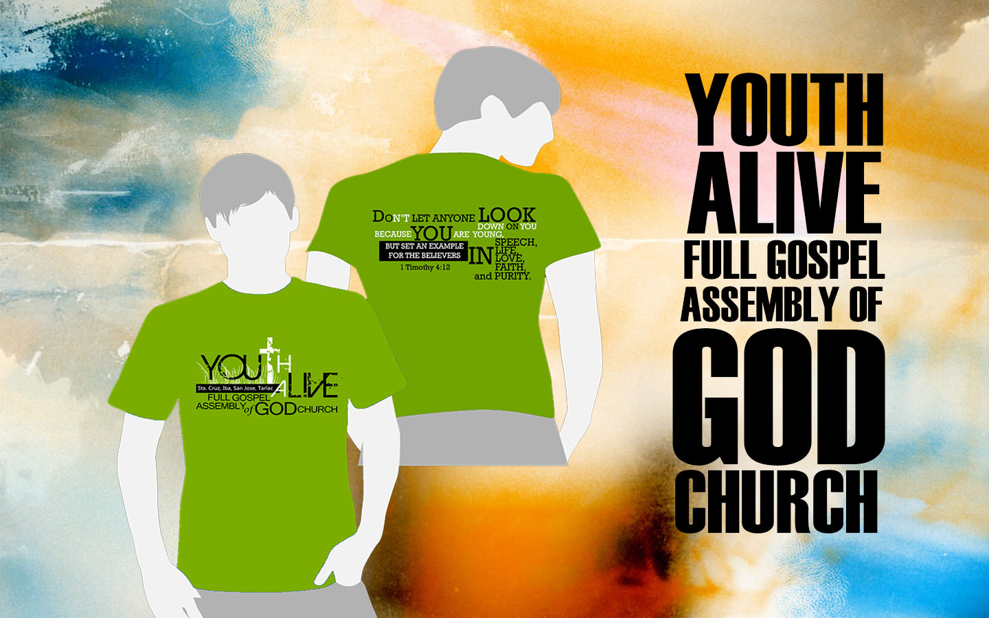 Shirt Design 2 Youth Alive Full Gospel Assembly Of God Church Fgag