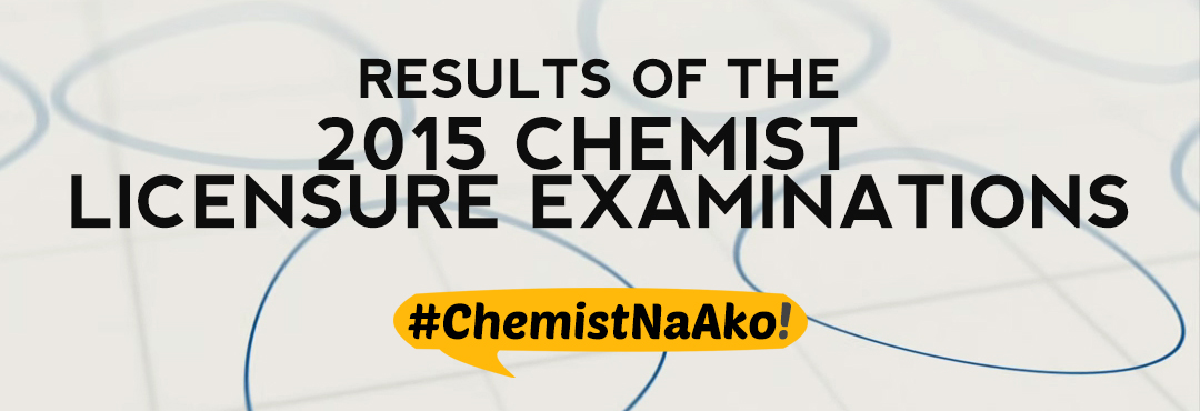 Blog Comeback: Chemist Board Licensure Examination
